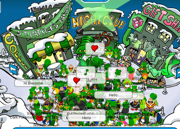 Moderator Party | Club Penguin Cheat Site