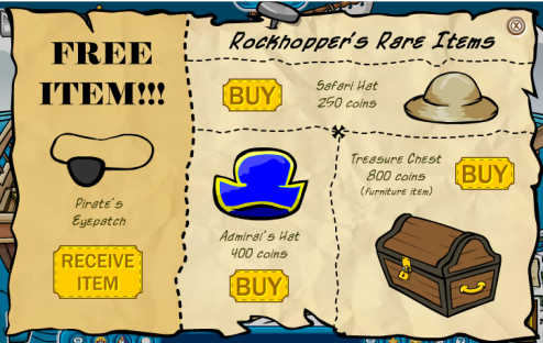 first-rockhopper-rare-items