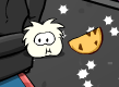 white-puffle-eating-cookie