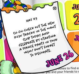 101 days of fun day23