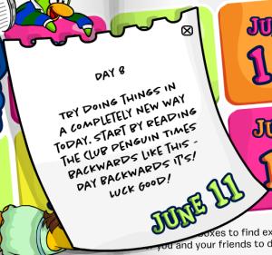 101 days of fun day8