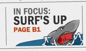 in focus surfs up
