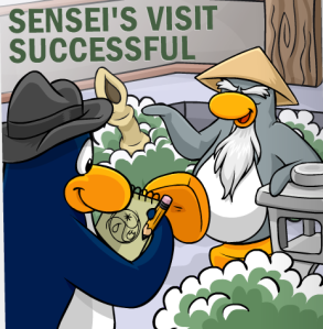 sensei sucsessful visit
