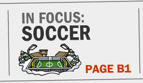 in focus soccer