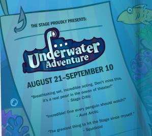 underwater adventure play