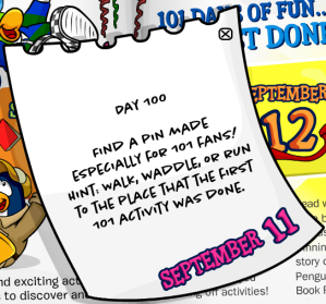 101 days of fun day100