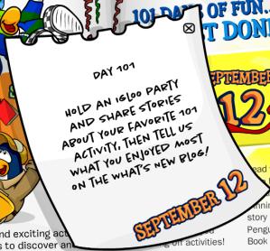101 days of fun day101