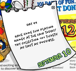 101 days of fun day99