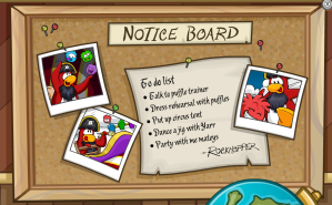 fall fair notice board