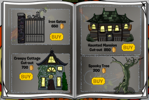 halloween better igloos page1