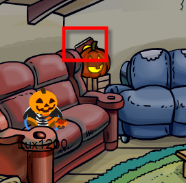 Club Penguin 2009 Halloween Party Candy Scavenger Hunt Cheats