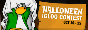 halloween igloo decorating contest