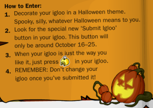 halloween igloo decorating contest2
