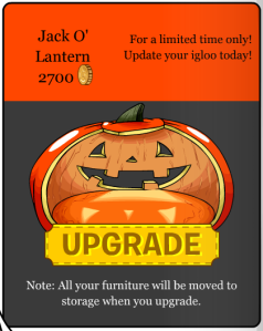 jack o lantern igloo