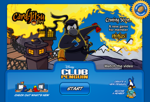 card jitsu fire load screen