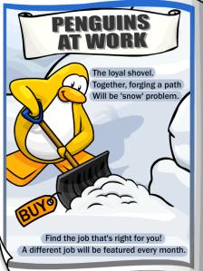 penguins at work november
