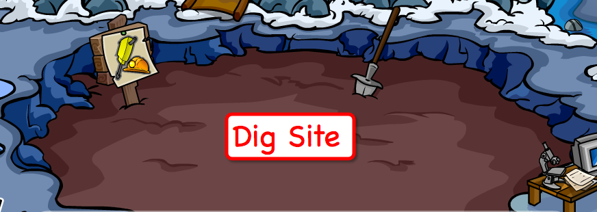 Club Penguin Mine Expedition Dig For Treasure Unlock