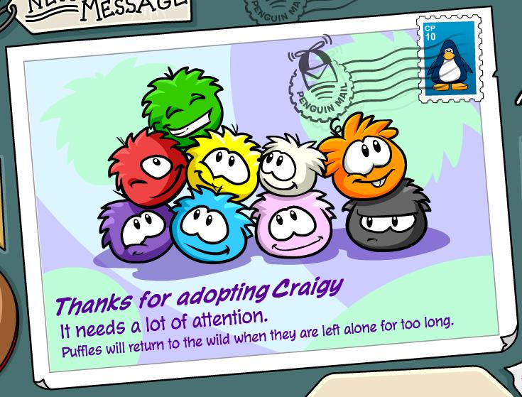 Saraapril in Club Penguin: Adopt an Orange Puffle NOW :) | 559x735